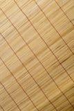 Material do teste padrão da cortina de bambu Foto de Stock
