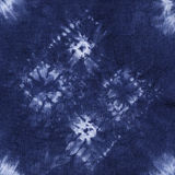 Material dyed batik. Shibori Stock Photography
