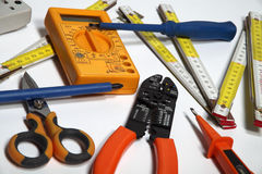 Material for electricians Stock Photo