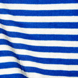 Material em branco e em azul Fotografia de Stock