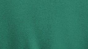 Material en blanco verde lento de la tela que agita almacen de video