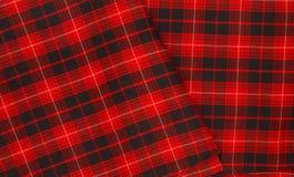 Material escocés foto de archivo