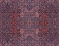 Material exterior do assoalho com o tijolo vermelho da estrela Fotografia de Stock