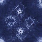 Material färgad batik Shibori Arkivbild
