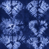 Material färgad batik Shibori Royaltyfri Bild