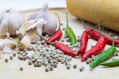 Material för att laga mat Fotografering för Bildbyråer