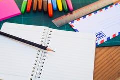 Material für Schule Lizenzfreie Stockbilder