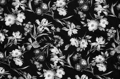 Material floral abstracto de la tela Foto de archivo libre de regalías