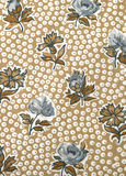 Material floral do vintage Fotos de Stock Royalty Free