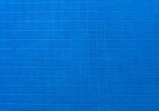 Material forte e durável da parada azul do rasgo foto de stock