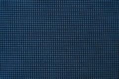 Material forte e durável da parada azul do rasgo fotos de stock