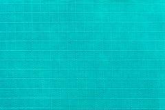 Material forte e durável da parada do rasgo do azul de turquesa do equipamento e do sportswear turísticos Saturação ciana imagens de stock royalty free