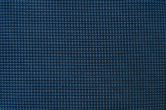 Material fuerte y durable de la parada azul del rasgón fotos de archivo