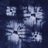 Material gefärbter Batik. Shibori Lizenzfreies Stockbild