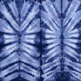 Material gefärbter Batik Shibori Stockbild