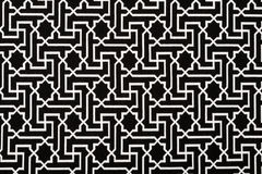 Material in geometric patterns, a textile background. Royalty Free Stock Photography