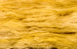 Material of glass wool insulation Stock Image