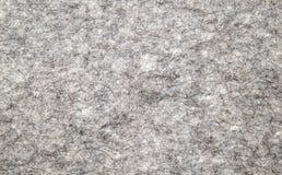 Material gris de las lanas para coser Fotografía de archivo