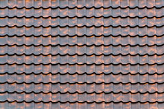 Material of house roof Stock Images