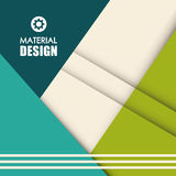 Material icon design Stock Images