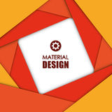 Material icon design Royalty Free Stock Image