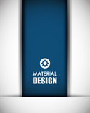 Material icon design Royalty Free Stock Photography