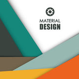 Material icon design Royalty Free Stock Images