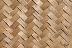 Material natural handcraft weave texture bamboo surface interior for background royalty free stock images