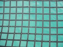 Material net that is a decoration on a yacht royalty free stock images