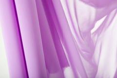 Material púrpura Foto de archivo libre de regalías