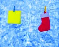 Material para o Natal Imagem de Stock