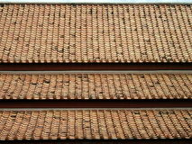 Material para techos Foto de archivo libre de regalías