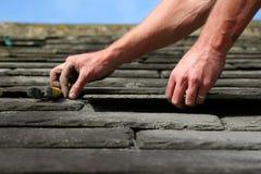 Material para techos de la pizarra