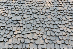 Material para techos-madera llana fotografía de archivo