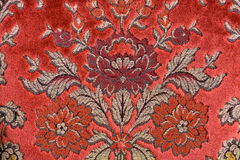 Material red flourished Royalty Free Stock Photo