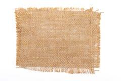 material sackcloth Arkivbild
