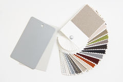 Material samples Royalty Free Stock Photo