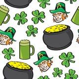 Material sem emenda do dia do St. Patricks Fotografia de Stock Royalty Free