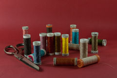 Material Sewing Fotografia de Stock Royalty Free