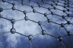 Material Structure - Graphene Stock Images