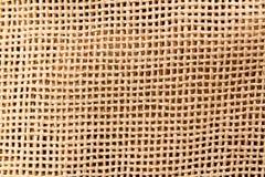 Material tejido natural Imagen de archivo libre de regalías