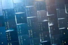 Material termal del sistema de protección Fotos de archivo libres de regalías