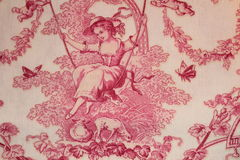 Material texture. Material pink texture the clouse up horizontal texture background Stock Photos