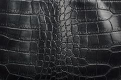 Material with texture of a reptile leather / black texture gridded royalty free stock image
