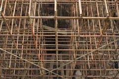 Material till byggnadsställning Arkivbilder