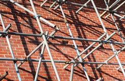 material till byggnadsställning Arkivfoto