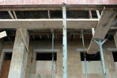 material till byggnadsställning royaltyfri foto
