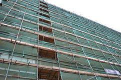 Material till byggnadsställningstruktur, Arkivbild
