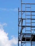 material till byggnadsställningtorn Arkivfoto