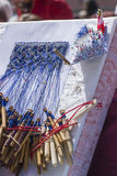 Material to Make Bobbin Lace. Royalty Free Stock Photo